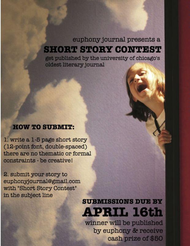 Euphony Short Story Contest Flyer